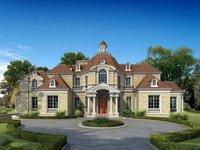 Luxury Mansion Scene 496 3D Model