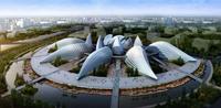 Futuristic Building Cityscape 506 3D Model