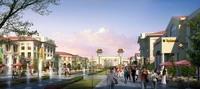 Shopping District Street Scene 510 3D Model