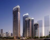 Skyscraper Cityscape 519 3D Model
