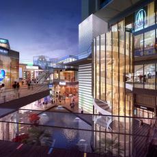 Shopping Galleria Mall 527 3D Model