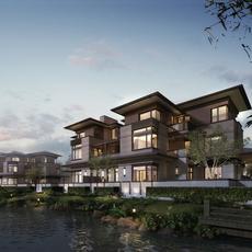 Residential Buildings 578 3D Model
