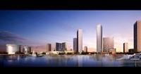City Skyline 589 3D Model