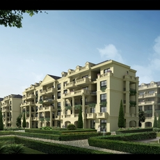 Luxury Apartment Buildings 600 3D Model
