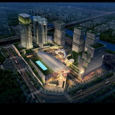 Cityscape 631 3D Model