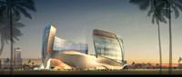 Futuristic Building Cityscape 714 3D Model