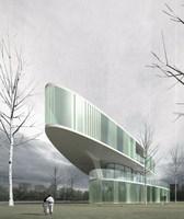 Futuristic Building 715 3D Model