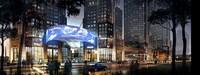 Downtown Cityscape 721 3D Model