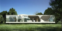 Contemporary Building 746 3D Model