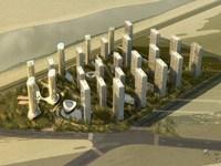 Cityscape 747 3D Model