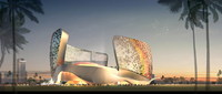Futuristic Building 751 3D Model