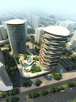 Cityscape 767 3D Model