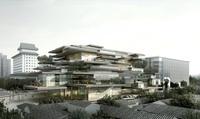 Multi Level Contemporary Building 773 3D Model