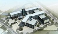 Aerial Building Complex 776 3D Model