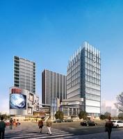 Downtown Buildings 789 3D Model