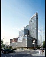 Modern City building 807 3D Model