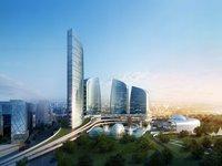 Modern Cityscape 820 3D Model