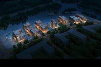 Night cityscape 907 3D Model