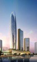 Waterfront Cityscape 921 3D Model