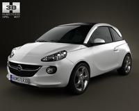 Opel Adam 2013 3D Model