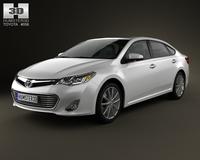 Toyota Avalon (XX40) 2013 3D Model