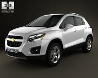 Chevrolet Trax 2013 3D Model