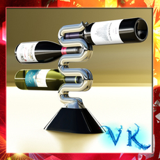 Wine Rack 3 3D Model