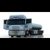 Truck Scania Tanker 3D Model