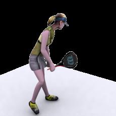 Girl_Tennis_player 1.1.1 for 3dsmax