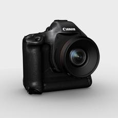 Canon EOS 1D MarkIII 3D Model