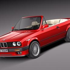 BMW 316i E30 convertible 3D Model