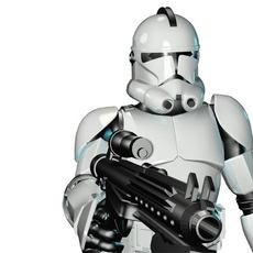 Stormtrooper Quinn ver. 1.15 3D Model