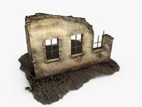 Building ruins 3D Model