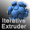 Iterative Extruder 1.1.0 for Maya (maya script)