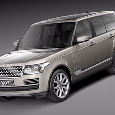 Range Rover 2013 3D Model