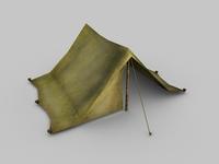 Tent 3D Model