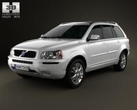 Volvo XC90 2012 3D Model