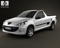 Peugeot Hoggar 2012 3D Model