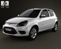 Ford Ka (Brazil) 2012 3D Model