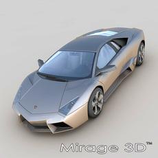 Lamborghini Reventon 3D Model