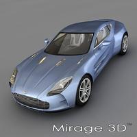 Aston Martin One-77 3D Model