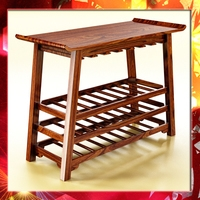 Wine Rack Table 2 3D Model