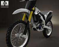 Kawasaki KX250F 2012 3D Model