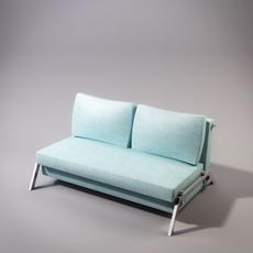 Sleek sofabed 3D Model