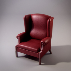 Francesco Molon P362 armchair 3D Model
