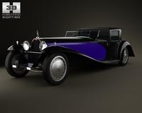 Bugatti Royale (Type 41) 1927 3D Model