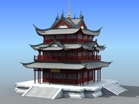 Chinese Architecture 08 3D Model