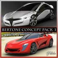 Bertone concepts 1 3D Model