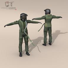 35 pilot 3D Model