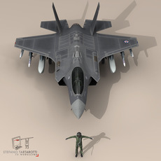 F 35 A Royal Norwegian air force	 3D Model